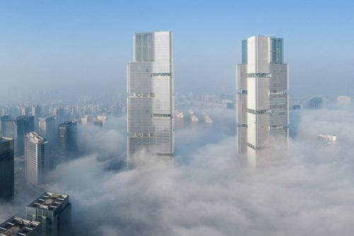 Zhengzhou Twin Towers / gmp Architects