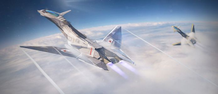 Concept jet fighter by Chao Xin