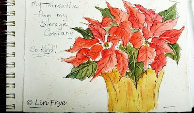 Journal - Poinsettia - Lin Frye