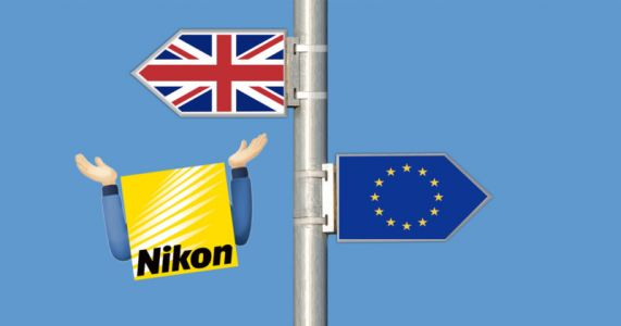 Nikon U.K. is Suspending Orders as a Result of Brexit Changes