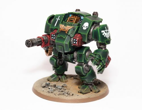 Showcase: Dark Angel Redemptor Dreadnought