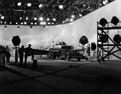 Hollywood Backdrops: Illusion at a Cinematic Scale