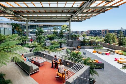 Facebook Expands Menlo Park Headquarters with MPK 21 Building by Gehry Partners