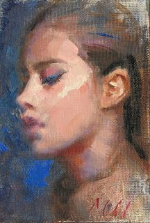 """""""Cecilie"""" portrait of a young girl"""