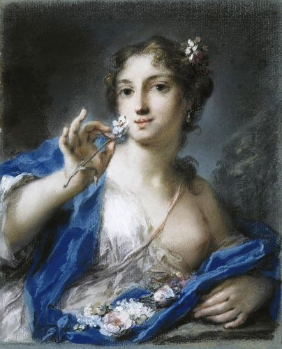 SPRING Personification Rosalba Carriera