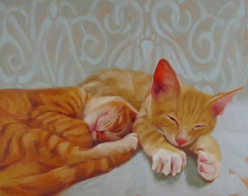 Orange Tabby Dreamers and The Painted Cat Calendar