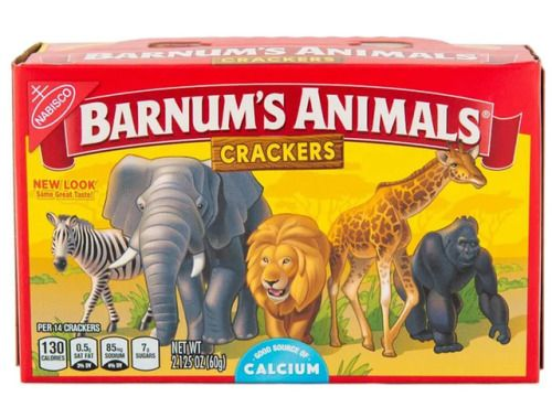 Free at last, Nabisco's Animals Crackers redesigned