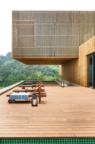 Meijie Mountain Hotspring Resort / Achterboschzantman Architecten