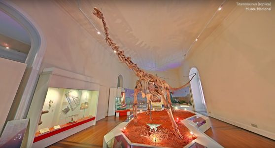 Google Builds a Digital Reproduction of the National Museum of Brazil After its Tragic Destruction