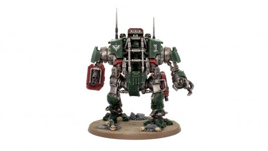 Showcase: Dark Angels Invictor Tactical Warsuit
