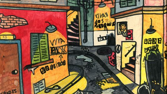 Drawing of a Street (1980)