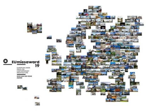383 Projects Nominated for the EU Mies Prize for Contemporary Architecture