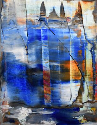 """Non Objective Painting, Contemporary Art """"Bold Country"""" by International Abstract Artist Arrachme"""
