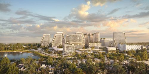 UNStudio Designs a Smart Karle Town Center Masterplan for Bangalore, India