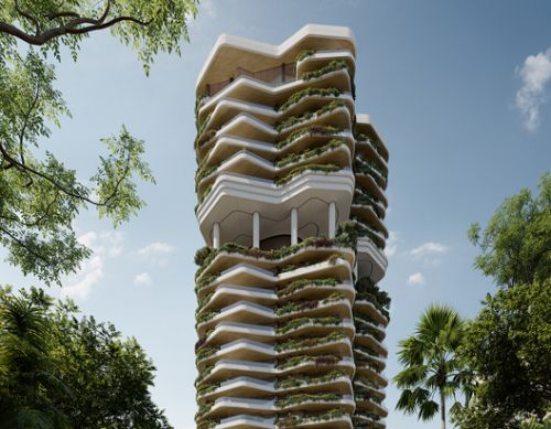 PLP Architecture Reveals Design for Residential Development in Singapore