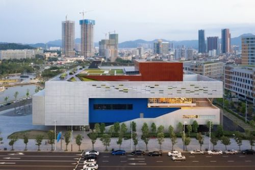 Pingshan Performing Arts Center / OPEN Architecture