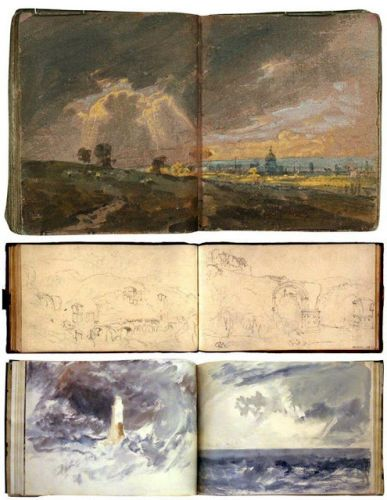 How Turner Painted in Watercolor