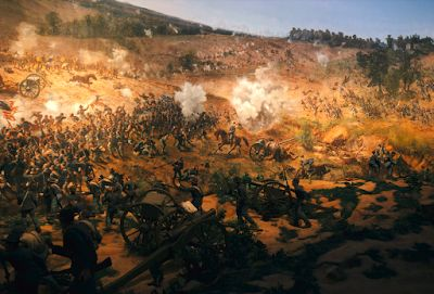 "Civil War Panorama ""Battle of Atlanta"""