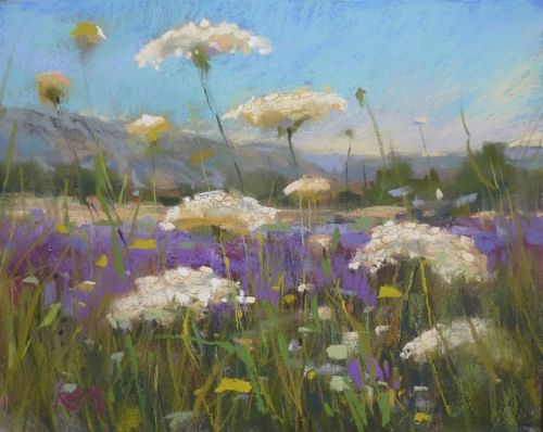 Painting Provence Part 6..A Good Year for Wildflowers