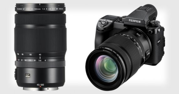 Fuji Unveils GF 45-100mm f/4 Medium Format Lens, Teases 80mm f/1.7