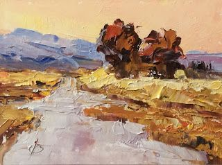 MINIATURE LANDSCAPE $50 by TOM BROWN