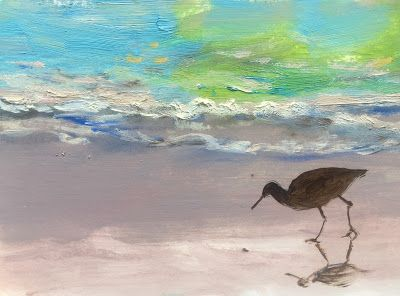 "Ocean Birds, ""Water's Edge,"" by Amy Whitehouse"