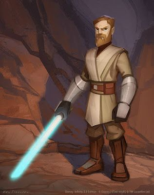 STAR WARS - Disney Infinity 3.0 - Obi-Wan Figure Design