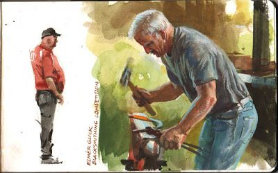 A Farrier in Action