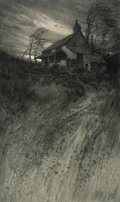 Charles Frederick William Mielatz, Old House in Wind