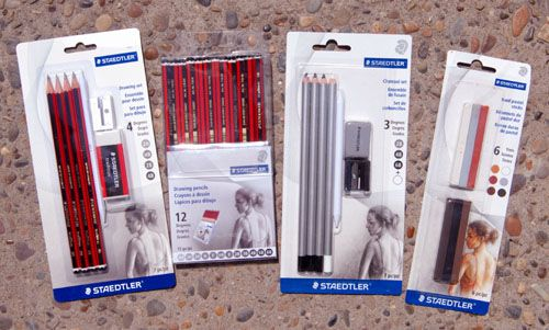 Here Are The Staedtler Products With My Drawings!