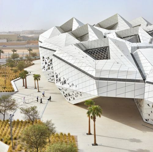 King Abdullah Petroleum Studies and Research Centre / Zaha Hadid Architects