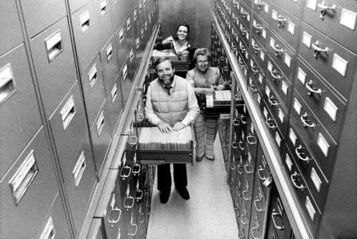 Flashback Friday: Behind the Scenes at Smithsonian Institution Archives