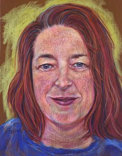 Heather's Portrait, by Kim Blair