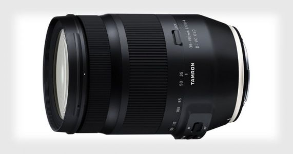 Tamron Unveils the 35-150mm f/2.8-4 FF Lens for Canon and Nikon