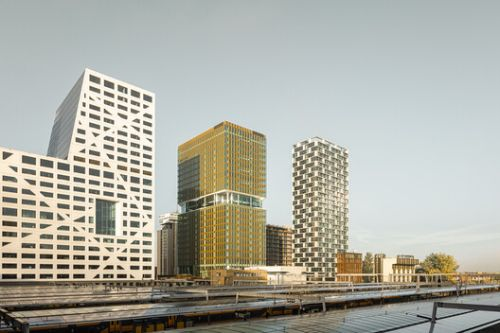 Central Park Office Tower / GROUP A