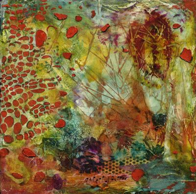 """UPCOMING AUCTION, Abstract Painting, Contemporary Art """"Change of Spots"""