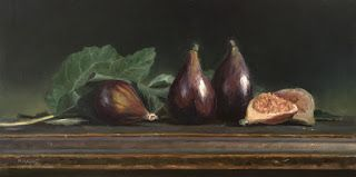 Figs on Antique Table