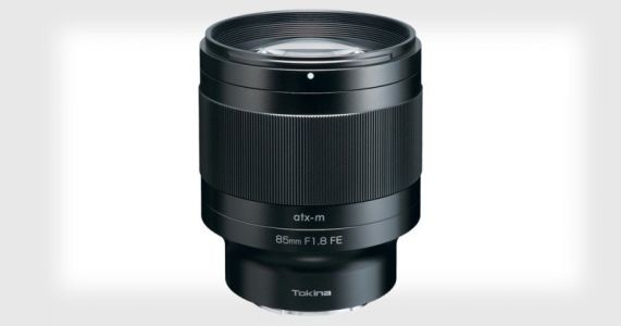 Tokina Launches New Line of Mirrorless Lenses Starting with an 85mm f/1.8 for Sony E-Mount