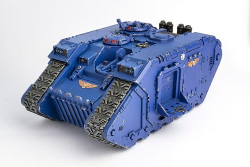 WIP: Ultramarines Land Raider Crusader 2