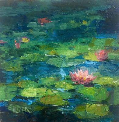 Light On the Lily Pond