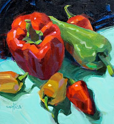 Look for the peppers.in art stores near you!