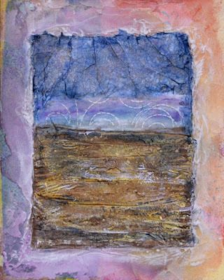 Mixed Media Abstract Painting