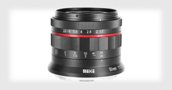 Meike Launches a Cheap 50mm f/1.7 Lens for Canon RF and Nikon Z
