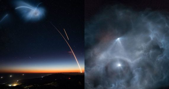 Beautiful Views of the SpaceX Launch that Lit Up the West Coast Sky