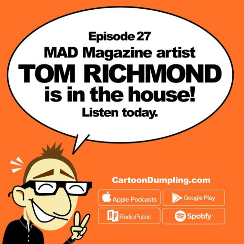 Cartoon Dumpling Podcast!