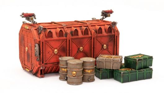 Showcase: Munitorum Armoured Container 2