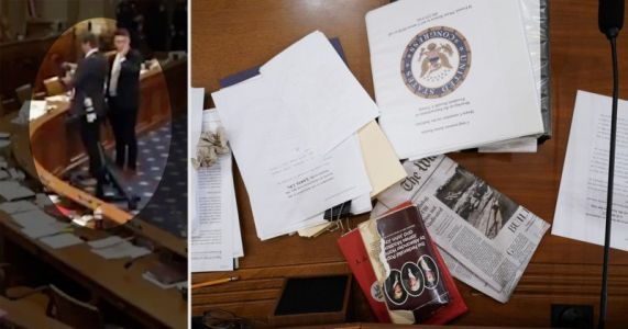 Reuters Photographer Kicked Out of Impeachment Hearing for Taking Photos of Congress Members' Notes