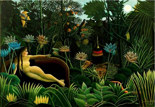 Henri Julien Félix Rousseau. Born on this day in 1844