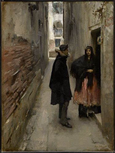 Up Close: Two Sargent Scenes of Venice