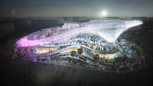 """10 DESIGN Proposes an Expo Pavilion Entitled """"A Country without Walls a Future without Limits"""""""